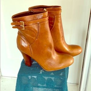 New Audrey Brooke Brown Leather Boot Size 9 1/2